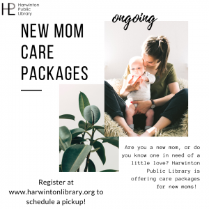 new mom care package